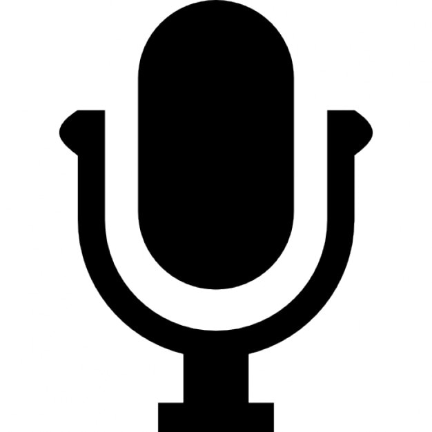 Voice Microphone Symbol Icons