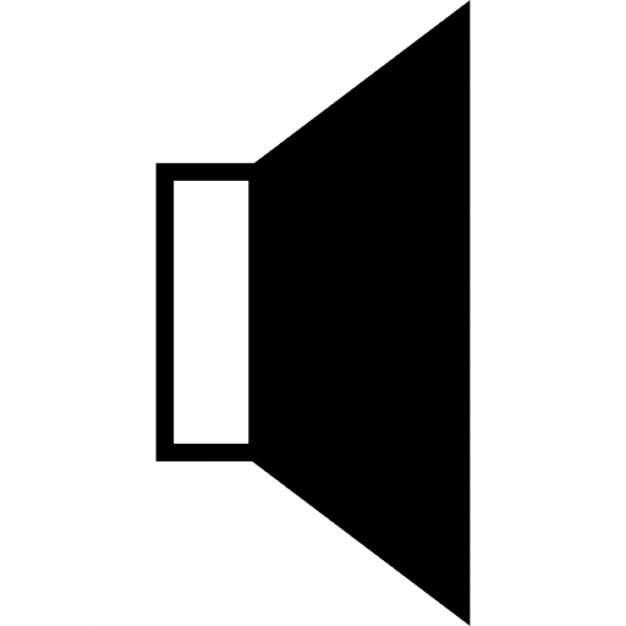 Volume Speaker Ios 7 Interface Symbol Icons Free Download