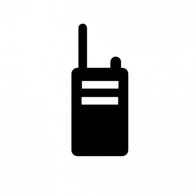 Wakie talkie radio Free Icon