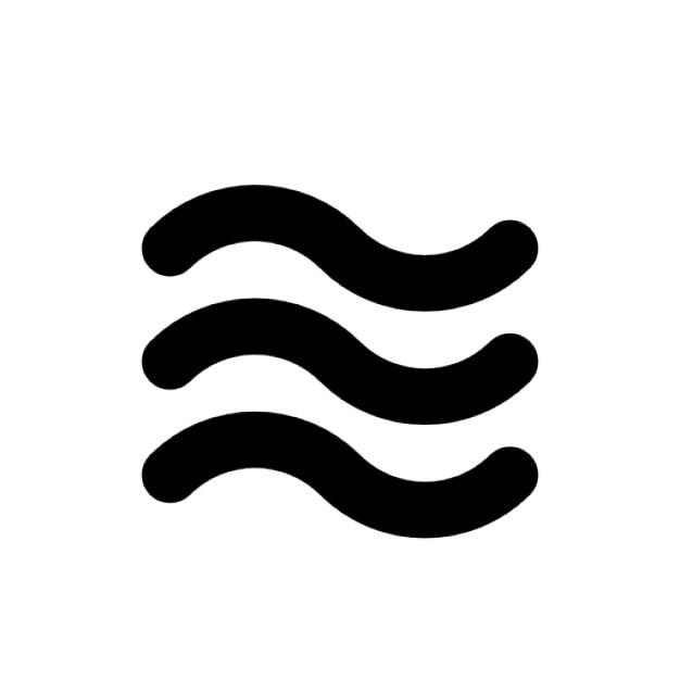 Waves Free Icon