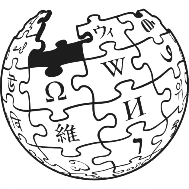 wikipedia logotype of earth puzzle icons free download