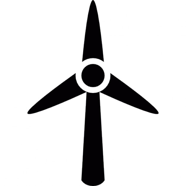 wind turbine icons free download Craft Clip Art Black and White technology clip art black and white