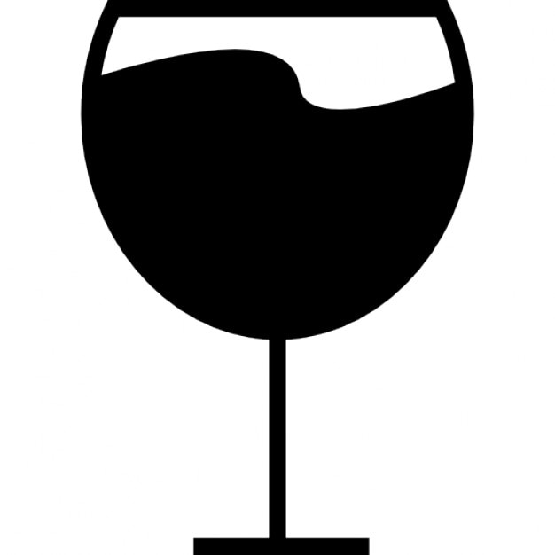 Wine Glass Ios 7 Interface Symbol Icons Free Download