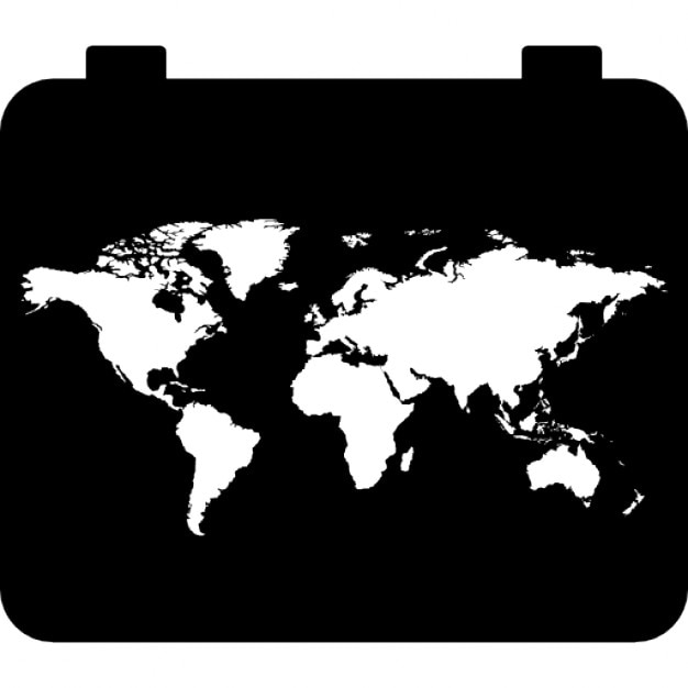 World map icons free download world map free icon gumiabroncs Image collections