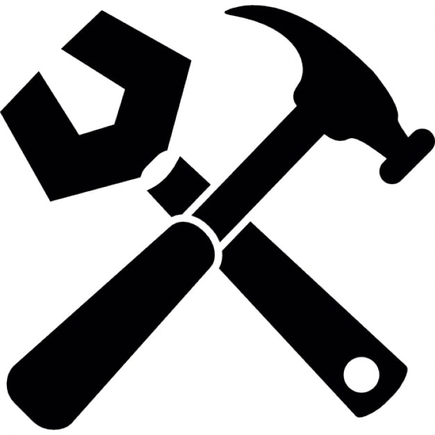 Wrench, hammer Icons |...