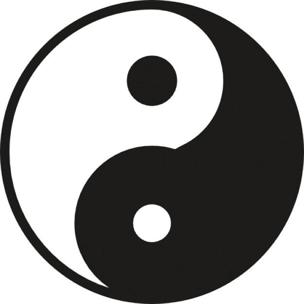 Yin Yang Symbol Icons Free Download