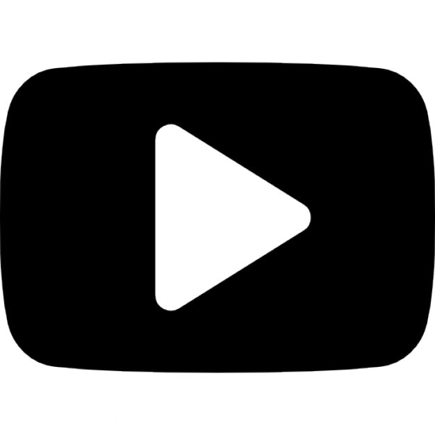 Youtube play button Icons | Free Download