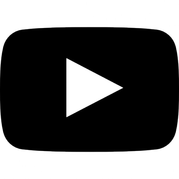 Youtube symbol Free Icon