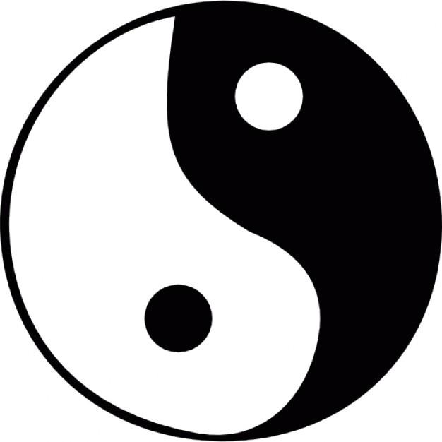 Zen Yin Yang Symbol Icons Free Download