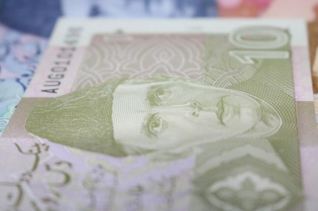 10ルピーパキスタンの通貨ノート 無料写真