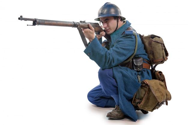 フランス兵1914年1918年絶縁 Premium写真