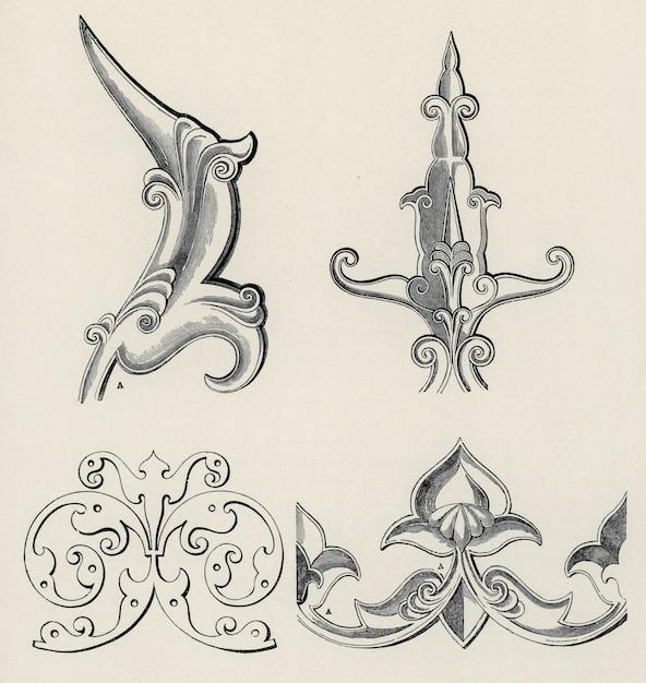 オーウェン・ジョーンズは19世紀の装飾の文法で有名です。 無料写真