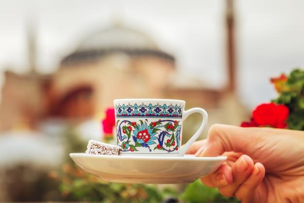 トルココーヒー1杯 Premium写真