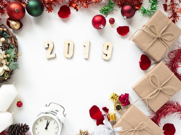 感謝祭とクリスマス、新しい年2019 Premium写真