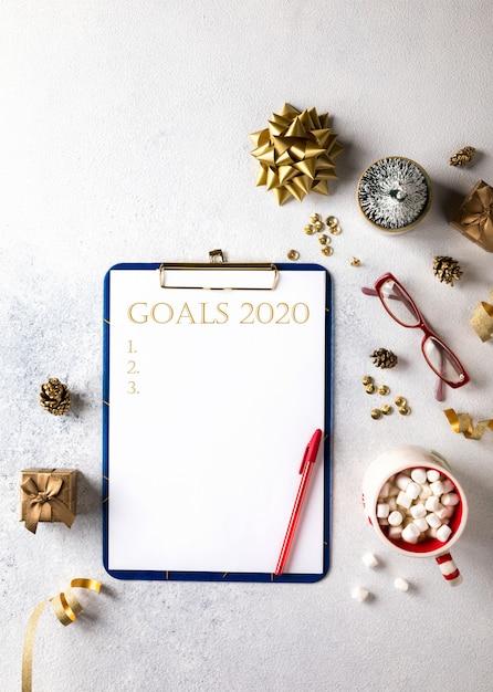 2020 new year goals,plans.business motivation concepts. Premium Photo