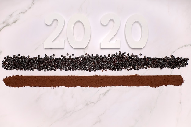 明けましておめでとう2020 Premium写真