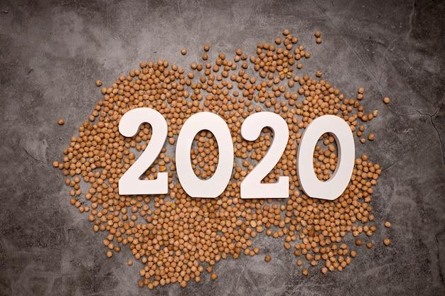 С новым годом 2020 Premium Фотографии