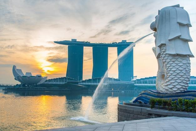 24 october 2016 : singapore landmark Premium Photo