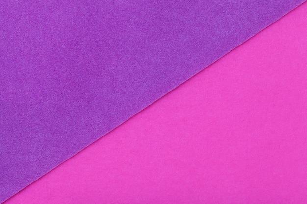 2色の背景に紫と紫の色合い Premium写真