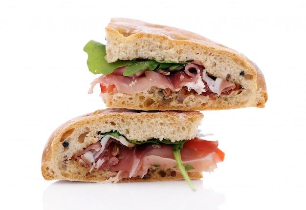 2つのおいしいサンドイッチ 無料写真