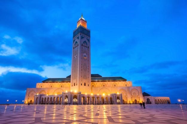 ハッサン2世モスク Premium写真