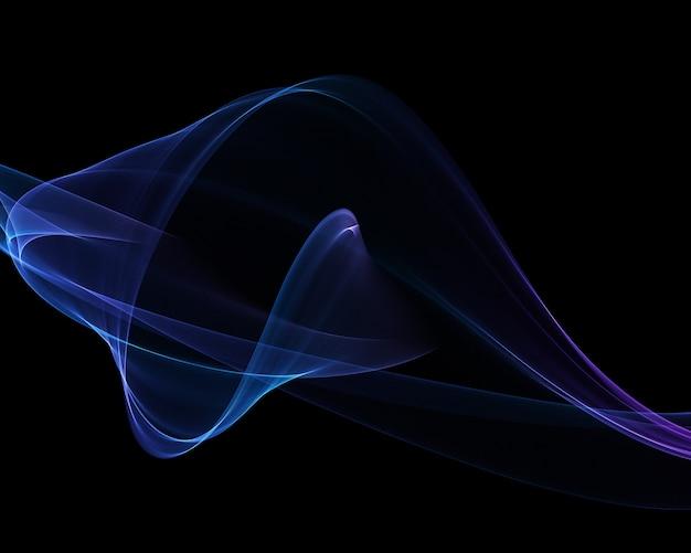 3 dの抽象的なフローの背景 無料写真