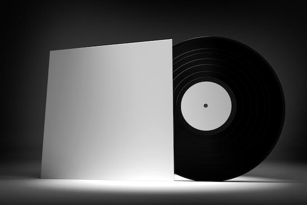 ビニールレコード -  3 dレンダリング Premium写真