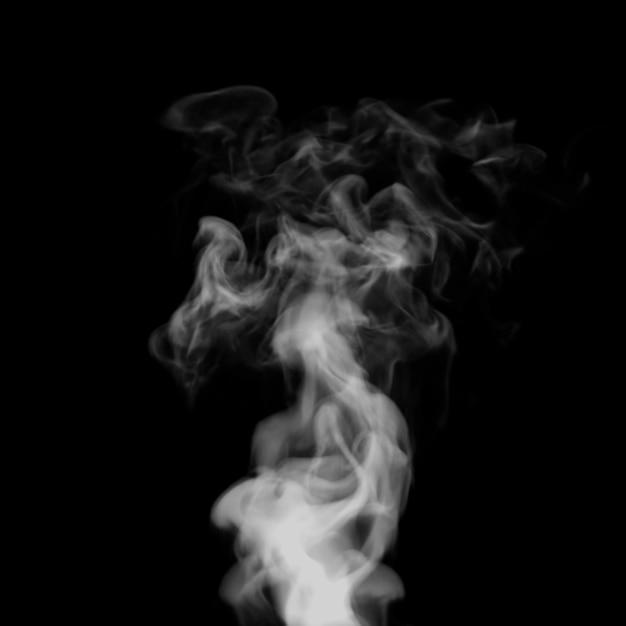 煙3 dイラスト。 Premium写真