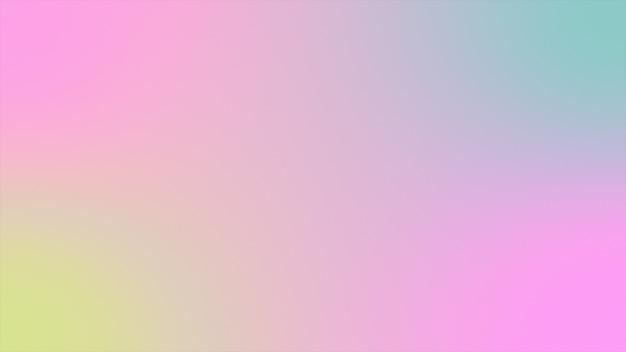 抽象的な背景ホログラフィックグラデーション未来的な3 dレンダリング Premium写真
