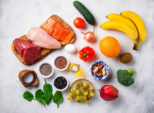 全30食の製品 Premium写真