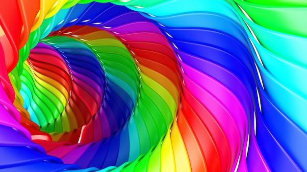 3d astratto geometrico Foto Gratuite