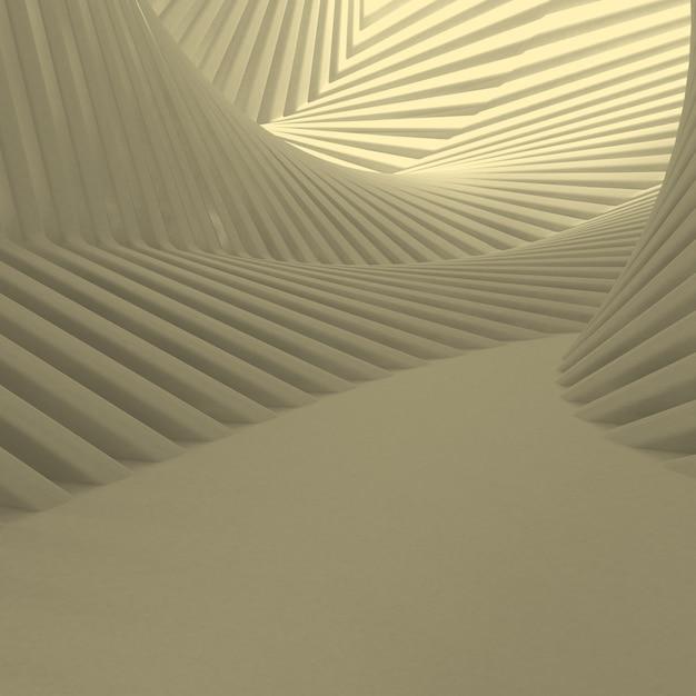 3 dの幾何学的な抽象的な背景 無料写真