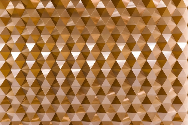 3d geometric texture in copper Free Photo