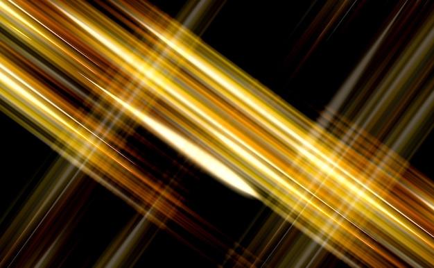 3d 그림 다채로운 추상적 인 빛나는 플래시. 프리미엄 사진