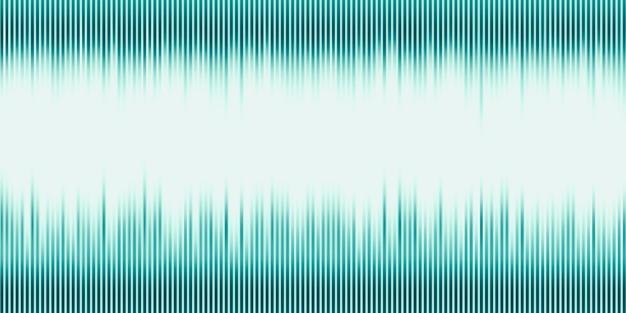 3dイラスト音波抽象的な音楽パルス背景黒い背景に別々に周波数とスペクトルの音波グラフ Premium写真