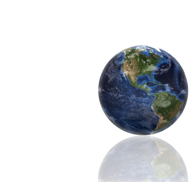 3d planet globe Premium Photo