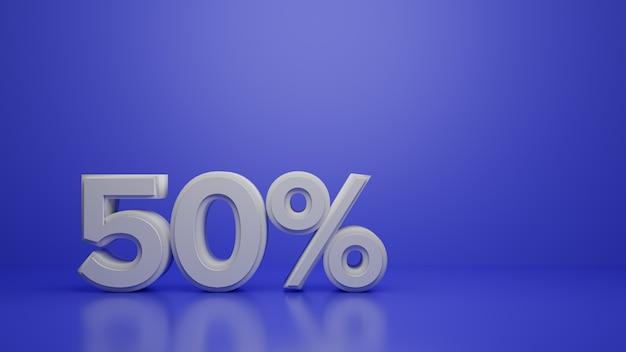 3d render со скидкой 50% на фиолетовый Premium Фотографии