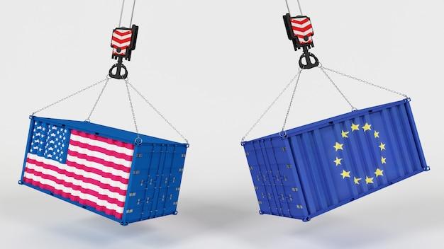 3D Render of US Import Tarrifs Free Photo