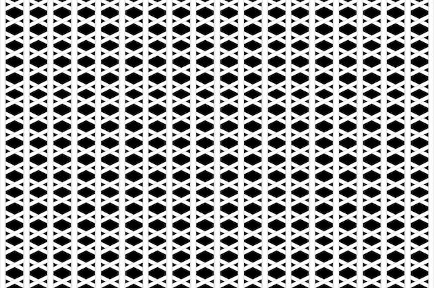3d рендеринг. абстрактный белый дизайн сетки на черном фоне. Premium Фотографии