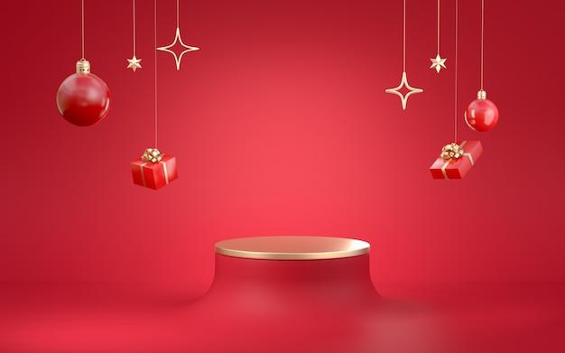 3d rendering of christmas