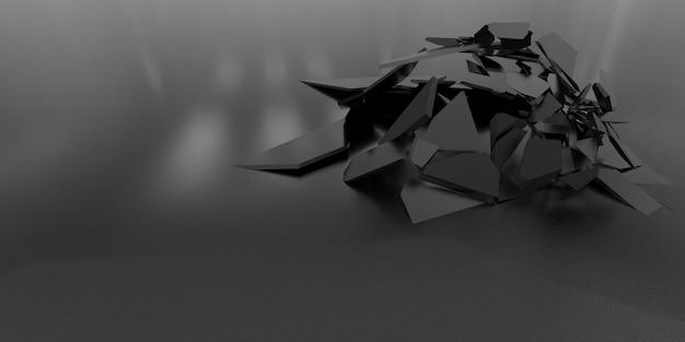 3d shatter абстрактные обои фон Бесплатные Фотографии