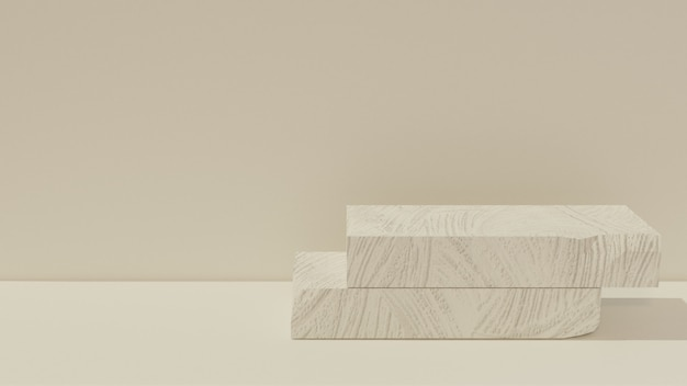 진열대 제품 또는 벽지를위한 3d 돌 또는 고약 프리미엄 사진