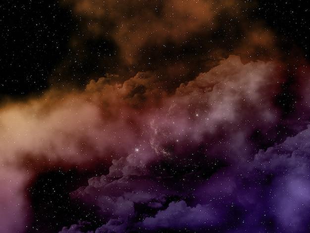 3d抽象的な空間の空 無料写真