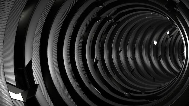 3d геометрический абстрактный фон Бесплатные Фотографии
