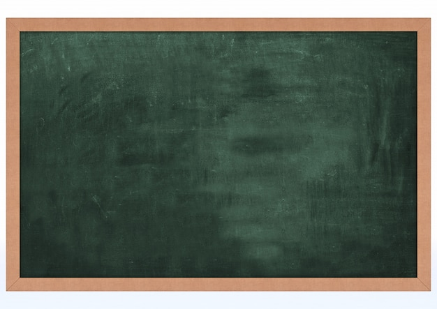 ブランクチョークボードのレンダリング3d 無料写真