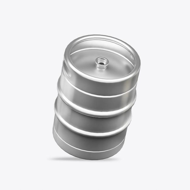 3dレンダー樽 Premium写真