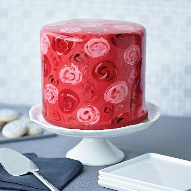 3dケーキ Premium写真