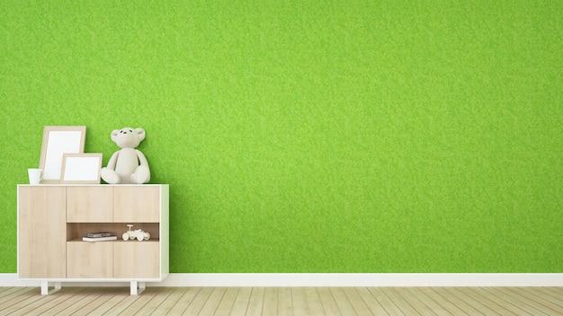 アパートやヌーサリーの子供部屋 -  3dレンダリング Premium写真