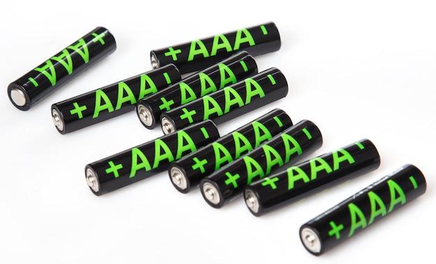 単4電池の山 Premium写真