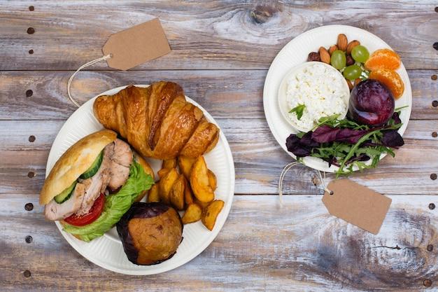 5:2 fasting diet concept Premium Photo